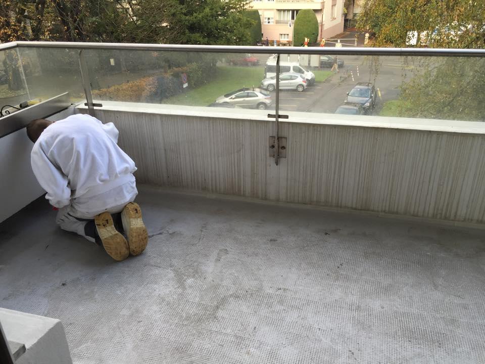 Préparation du support avant travaux de peinture