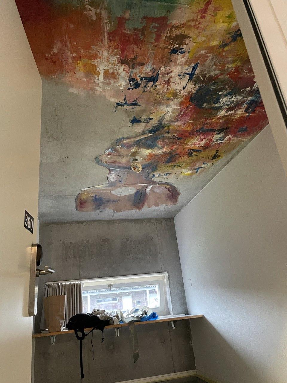 Travaux identiques à réaliser sur des plafonds en béton