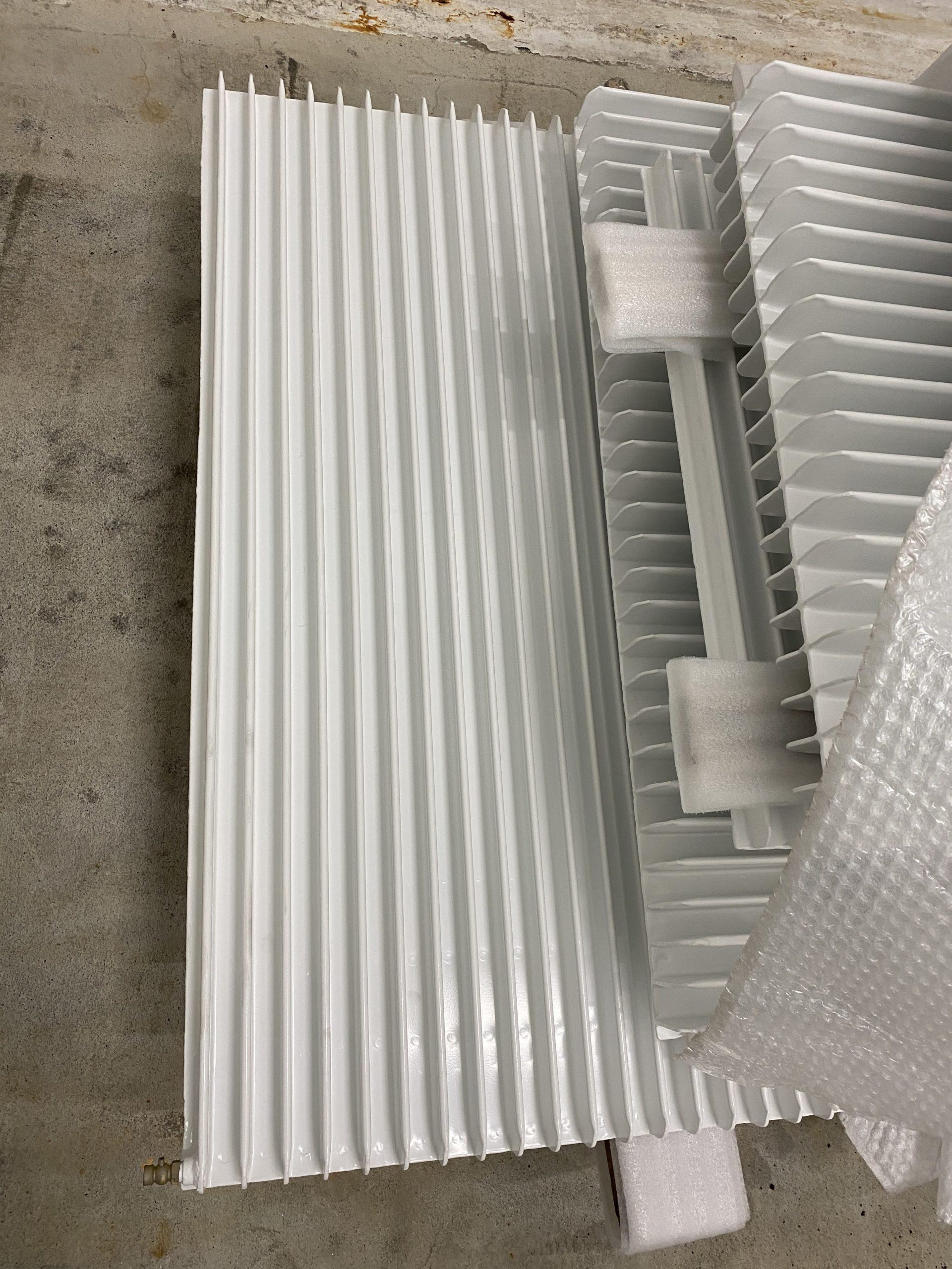 Thermolaquage des radiateurs
